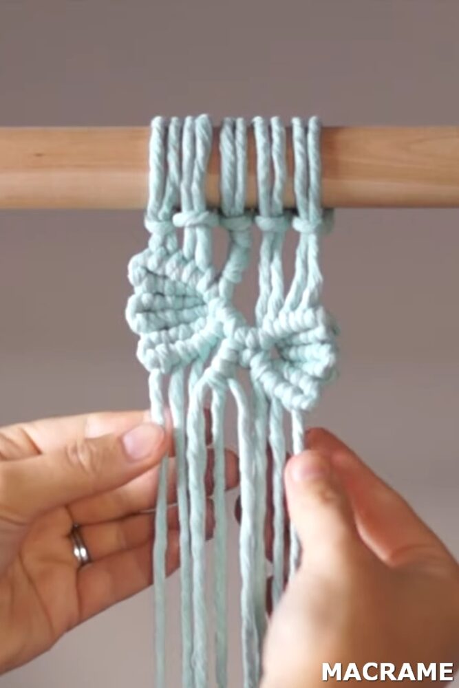 Photo of DIY Macrame Tutorial: How to Create a Vine/Leaf Pattern with 10 Strings!